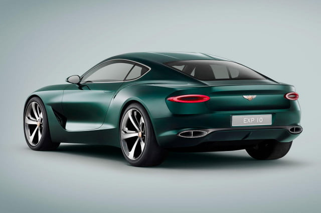 bentley exp 10 speed 6 concept official specs and pictures rear press image