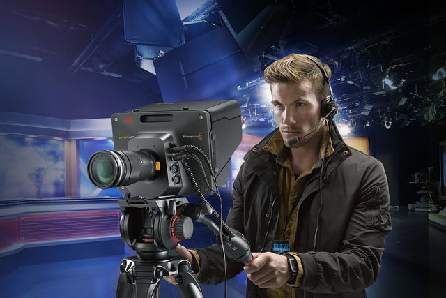 blackmagic announces live stream gear studio camera cameraman