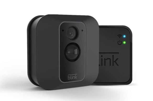 amazon pre prime day deals on blink xt outdoor security cameras xt2 smart camera  1 kit 2