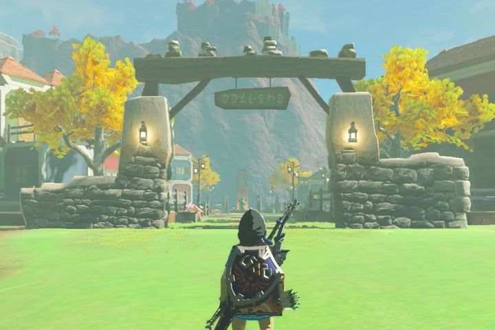 Breath of the Wild Tarry Town