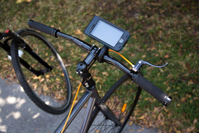 bycle case and app turns iphone into bike computer for tracking rides mount 9