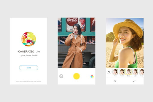Camera360 Lite is Second-Rated Photo App For Android