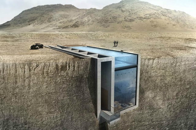 casa brutale is a conceptual cliff house on the aegean sea concept