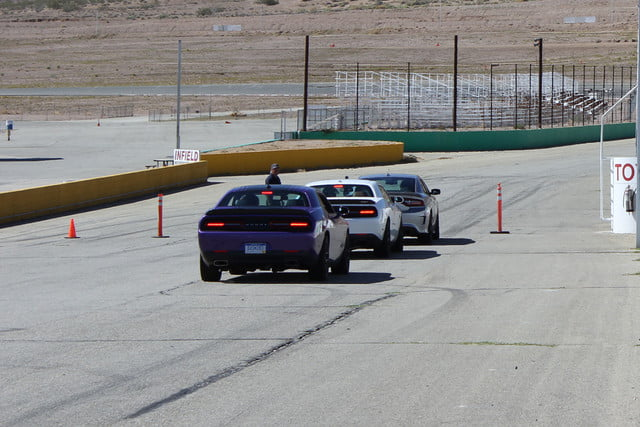 2015 dodge charger challenger srt hellcats track review and hellcat on lineup
