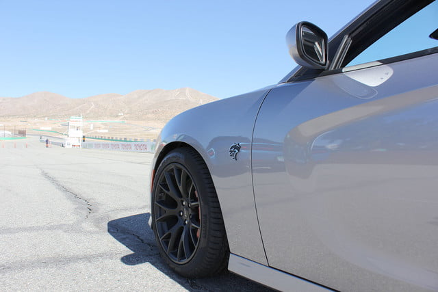 2015 dodge charger challenger srt hellcats track review and hellcat on tire