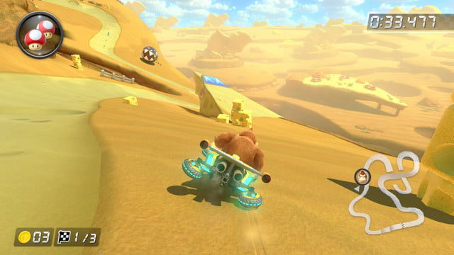 mario kart 8 shortcuts cheese land 2