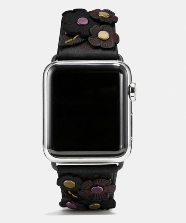 best apple watch bands coach band with tea rose applique1