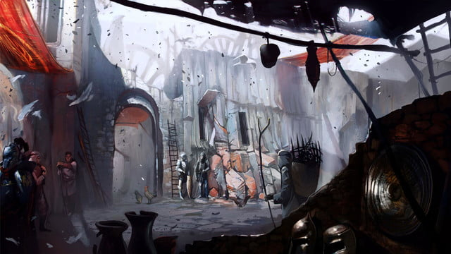 heres everything need know story leading dragon age inquisition daii concept art 25