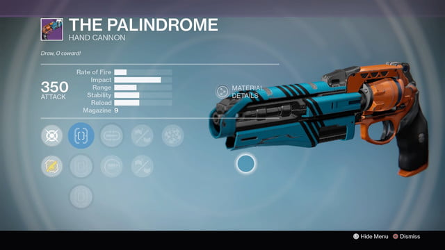 funniest gun names destiny rise of iron the palindrome