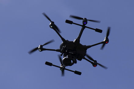 New Jersey Police Drones Tell Folks to Stay in During Pandemic