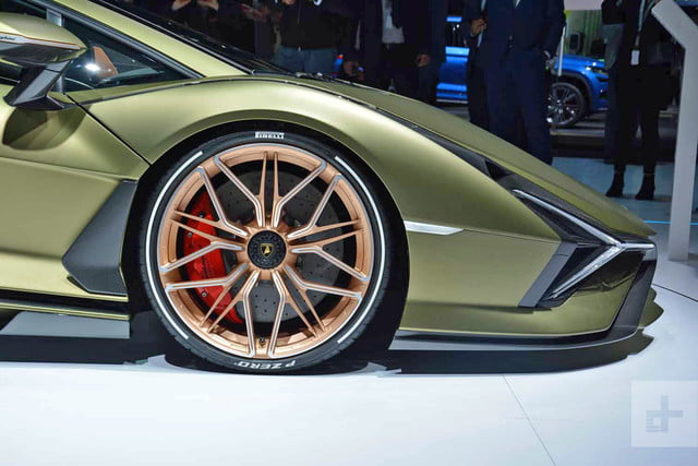 2020 lamborghini sian is a high tech hypercar with hybrid power dt 4