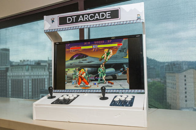 how to build arcade cabinet dt 5