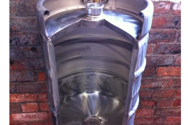 8 cool things you can make out of a keg etsy urinal
