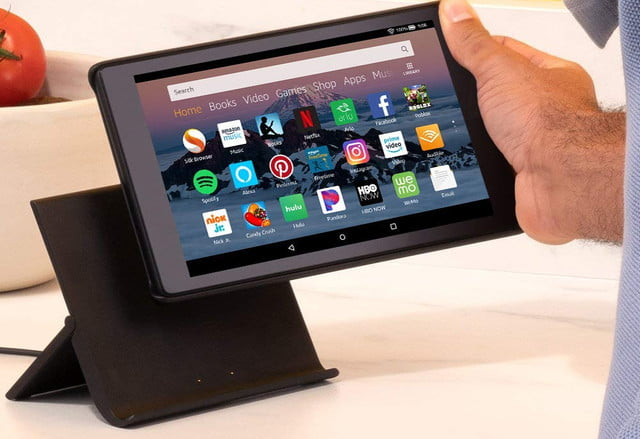 amazon slashes the prices on fire 7 and hd 8 tablets plus kids editions tablet show mode charging dock 5  1