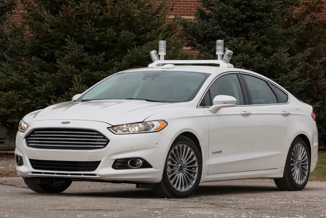 ford releases fusion hybrid research vehicle will explore autonomous driving tech 1