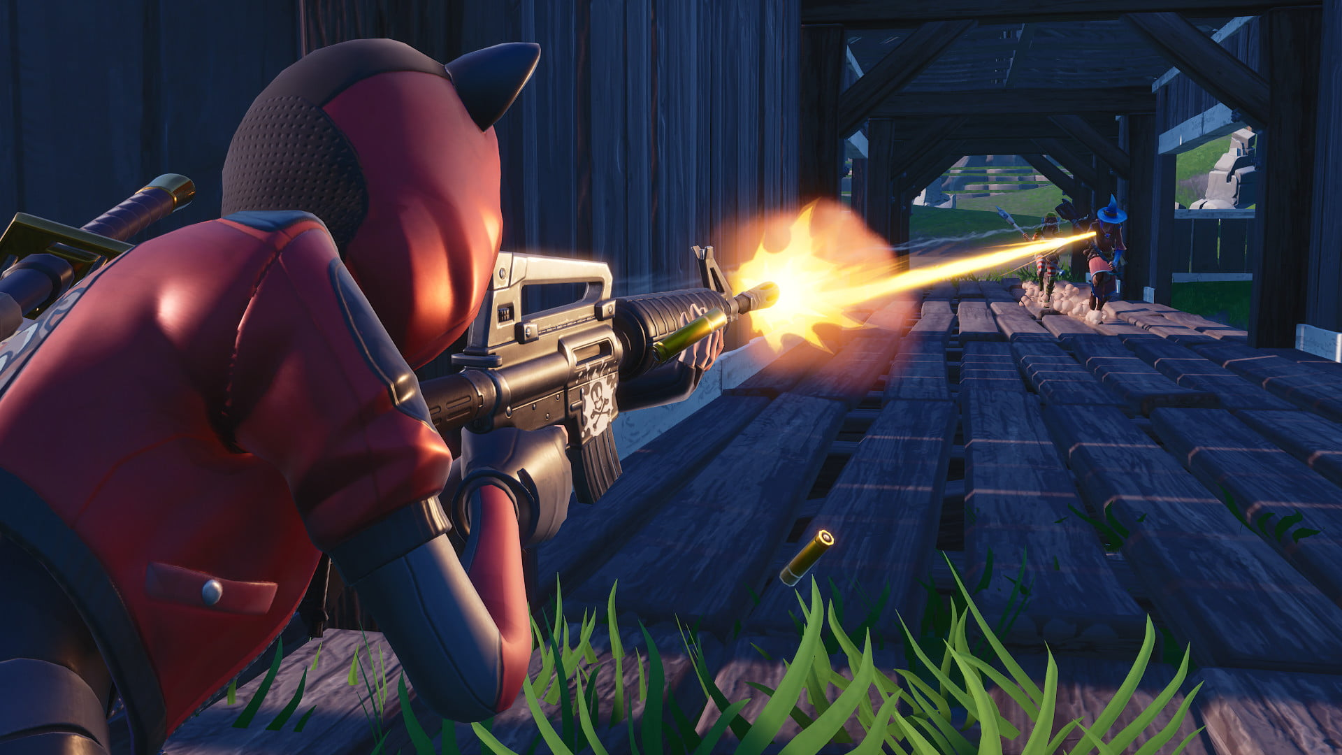 Fortnite Week 10 Challenges: Score 5 or More at the Shooting
