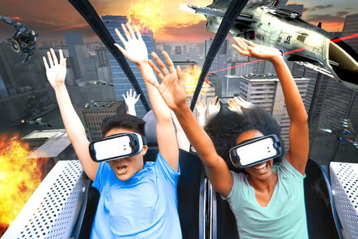 China S Sci Fi Amusement Park Is Powered By Virtual Reality Rides