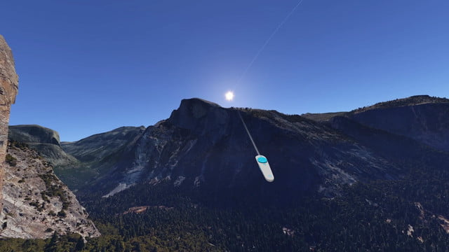google earth vr announced htc vive support first mountain