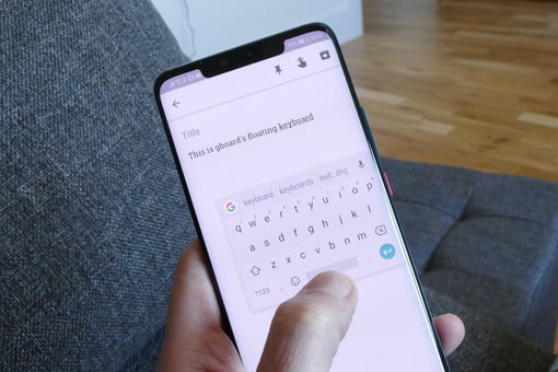 Google's Floating Keyboard Is so Helpful, You'll Be on Cloud