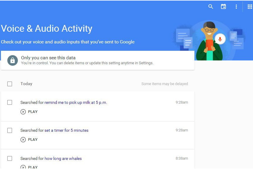 Google Voice Search History: How to View and Delete