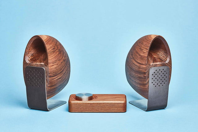 grovemade luxury speaker system announced wood speakers walnut gala a3