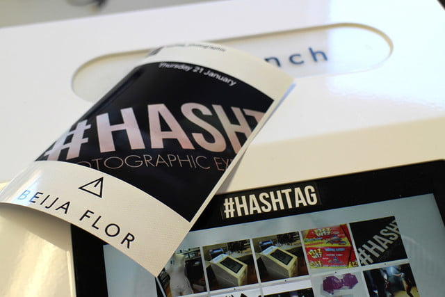 hashtag instagram printer hands on mini twitter  0136