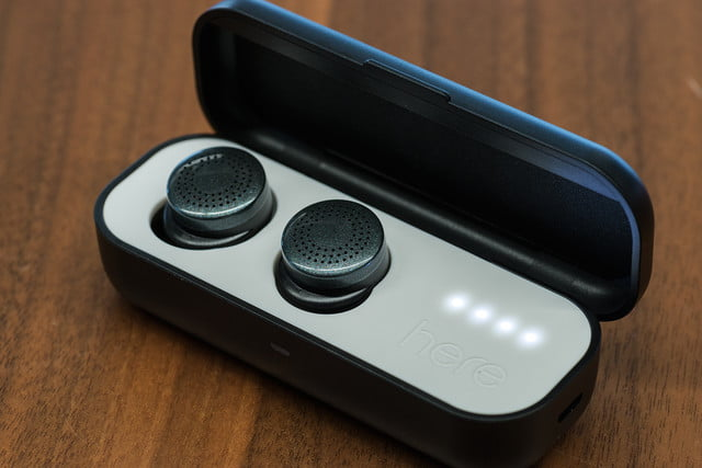 here active listening system hands on earbuds caseopen v2