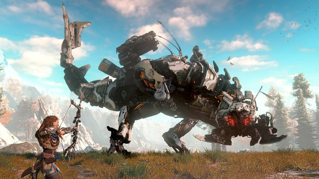 horizon zero dawn trailer at e3 shows off 8 minutes of new gameplay