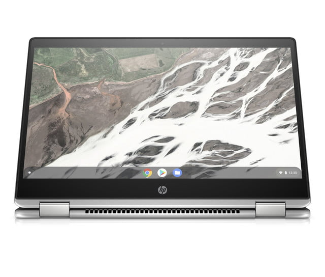 hp launches amd chromebook ces 2019 x360 14 g1 stand