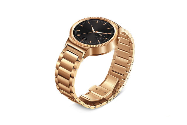 huawei watch news gold links left angle 2