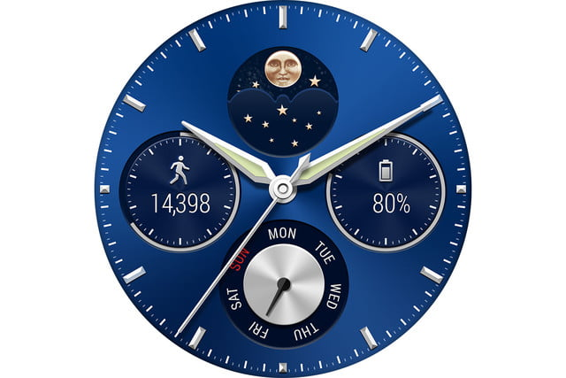 huawei watch news screen phase