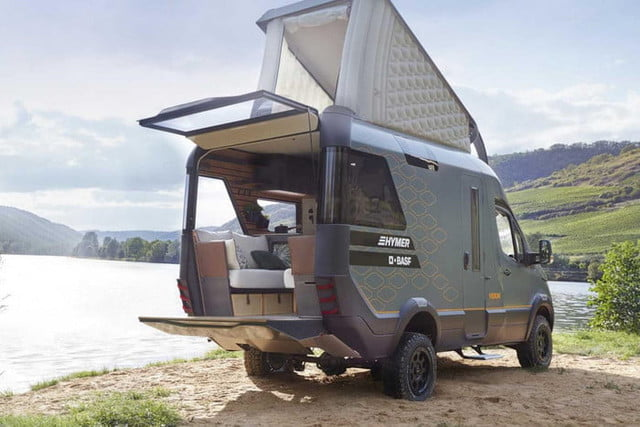 hymer visionventure concept previews the camper van of 2025 vision venture 6