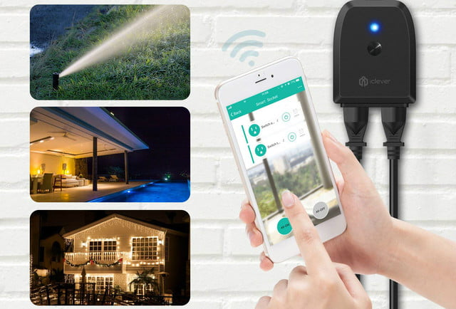 amazon echo and google home smart plug deals on iclever outdoor 1