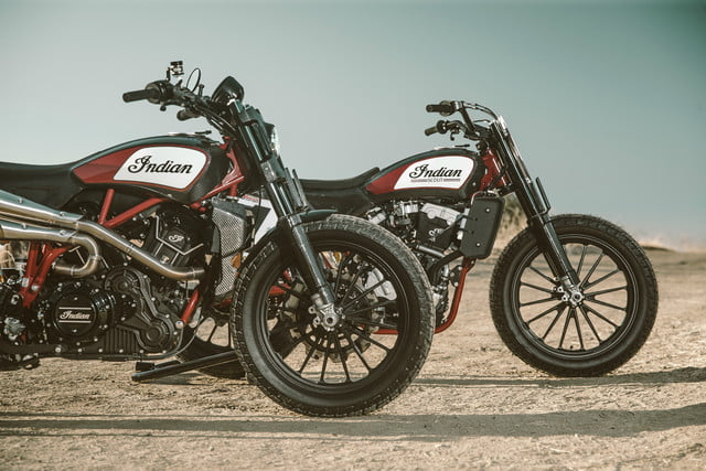 Indian Scout FTR1200 and FTR750