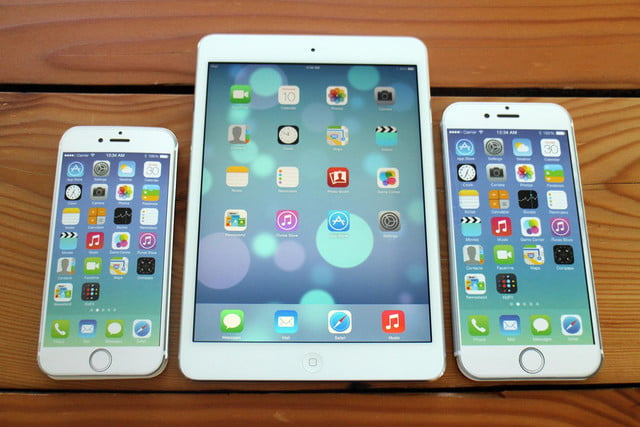 iPhone 6, iPad Mini, and iPhone 6 Plus
