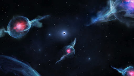 Astronomers discover bizarre stretchy objects unlike anything else in our galaxy