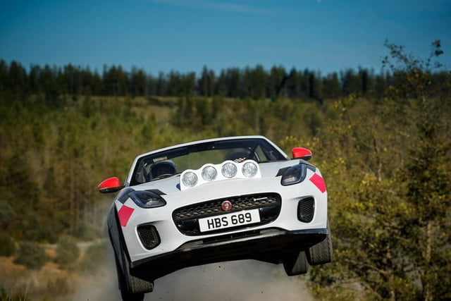 jaguar builds rally ready 2019 f type to turn heads car 2