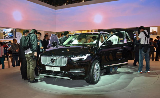 volvo lounge console concept pictures shanghai xc90