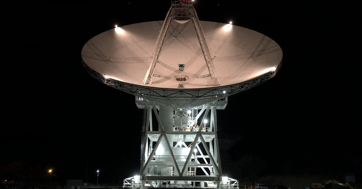 NASA has a new dish for talking to spacecraft in the far reaches of space