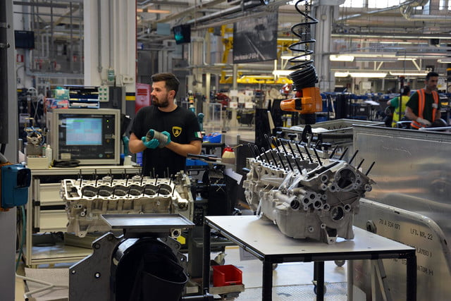 lamborghini factory tour pictures production process 0024