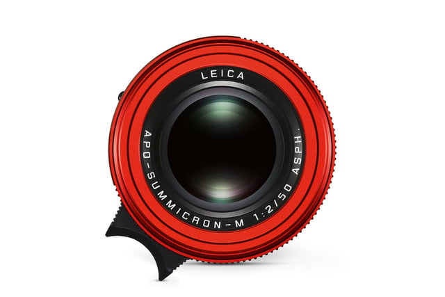 leica first special edition lens apo summicron m red top cmyk
