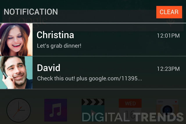 lg g3 homescreen screenshots leak exclusive notifications macro