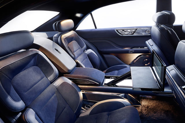 top 5 concept cars of 2015 opinion pictures specs lincolncontinentalconcept 08 interior