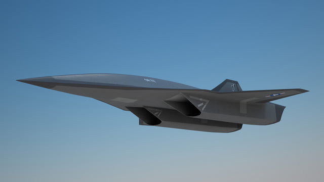high speed concepts that could mark the return of supersonic travel lockheed martin sr 72 hypersonic aircraft 3