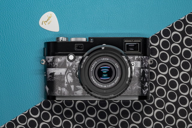 leica m monochrom signature special edition mono a summers blue background