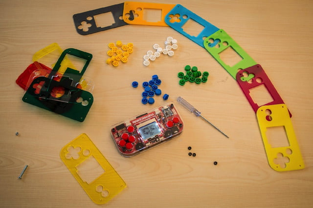 makerbuino handheld gaming kickstarter is customizable