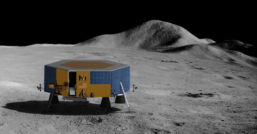 SpaceX will carry Masten lunar lander to the moon in 2022