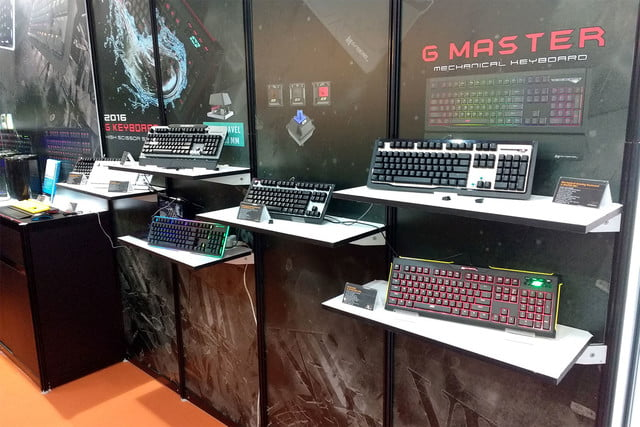 Mechanical keyboards computex