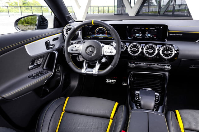 2020 mercedes benz cla keeps design led styling gets more tech ces 2019 amg 45 s 4matic