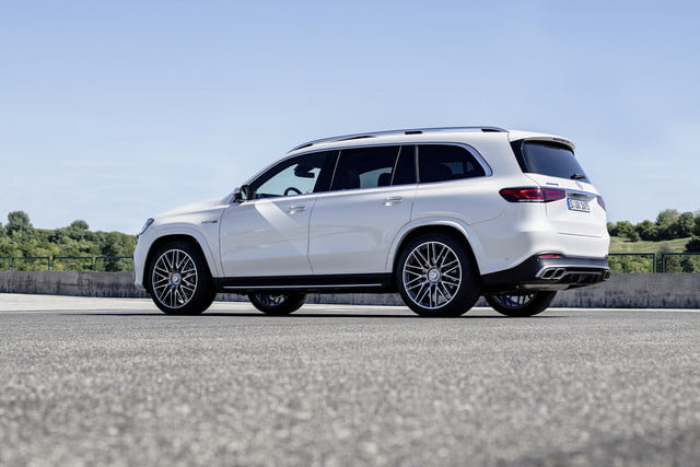 2019 los angeles auto show round up pictures and trends mercedes amg gls 63 4matic